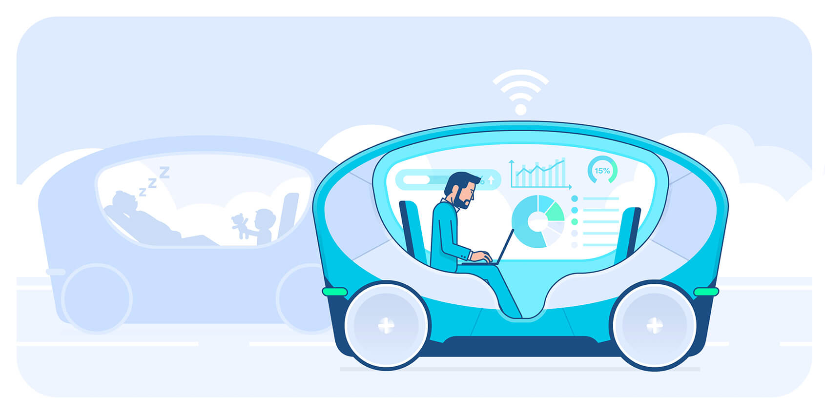 Driverless cars: how do we spend our time if we don't need to drive?