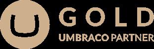 Image of the Umbraco Gold Partner logo