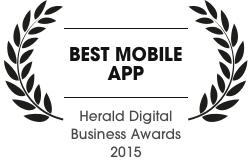 Herald digital business award
